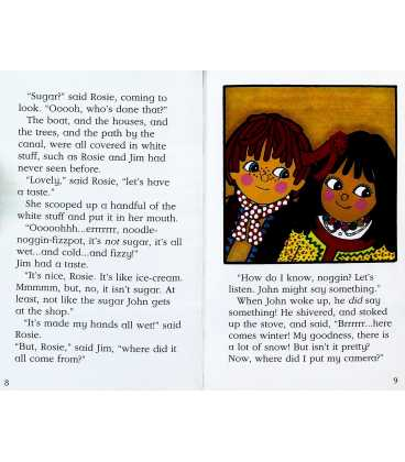 Rosie and Jim and the Snowman Inside Page 1