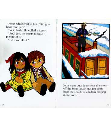 Rosie and Jim and the Snowman Inside Page 2