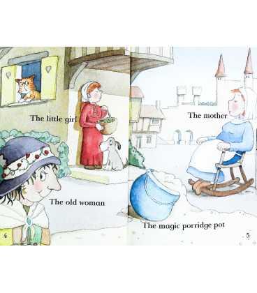 The Magic Porridge Pot (Read it Yourself : Level 1) Inside Page 1
