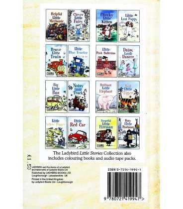 Helpful Little Mechanic (Little Stories) Back Cover