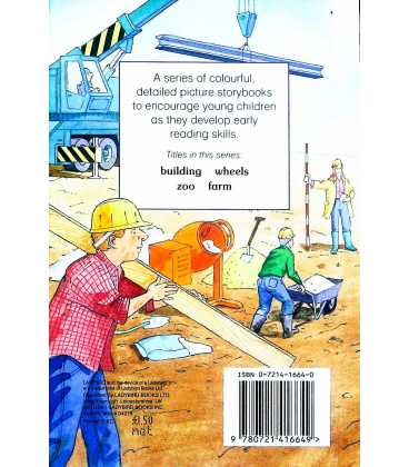 About Building (A First Reader) Back Cover