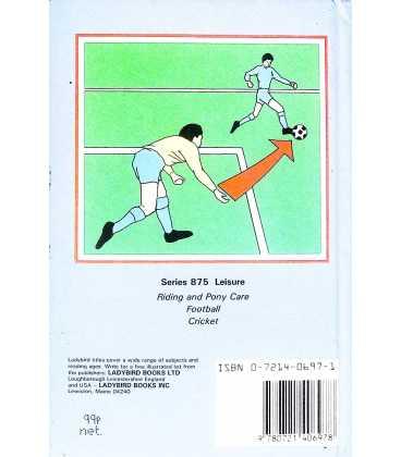 Football Back Cover