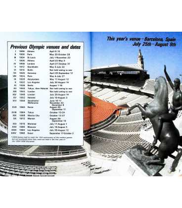 Olympics '92 Inside Page 2