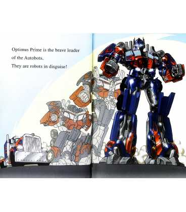 I am Optimus Prime (Transformers Revenge of The Fallen) Inside Page 1