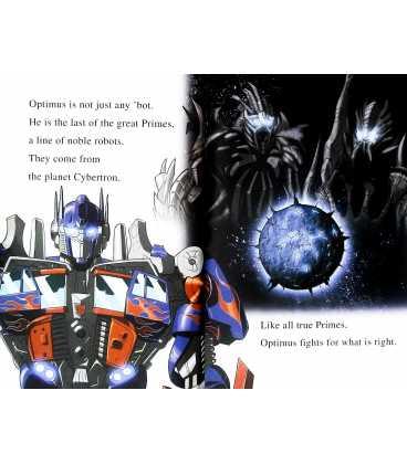 I am Optimus Prime (Transformers Revenge of The Fallen) Inside Page 2