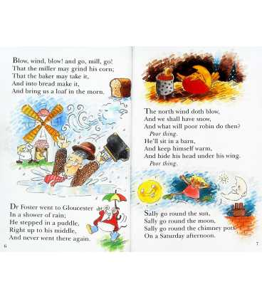 Hey Diddle Diddle and Other Nursery Rhymes Inside Page 1