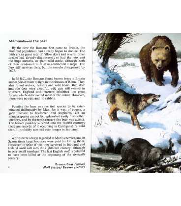 Wild Life in Britain (Conservation) Inside Page 1