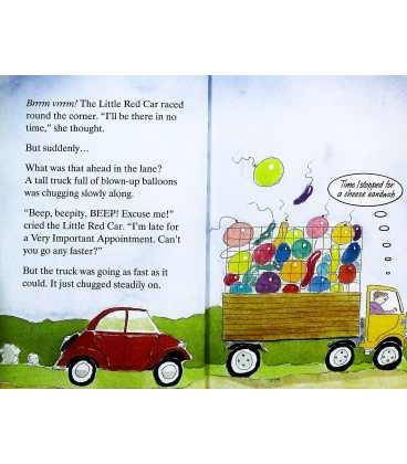Little Red Car Inside Page 2