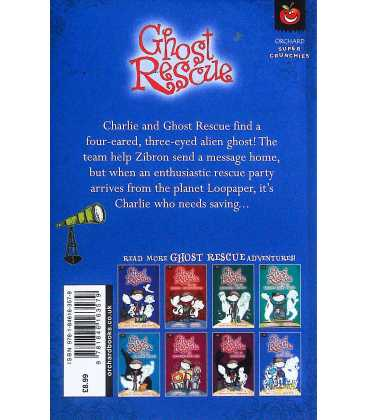 Ghost Rescue and the Space Ghost Back Cover