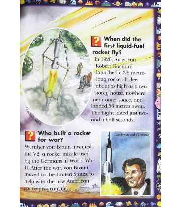 Space Exploration (A Question And Answer Book) Inside Page 1