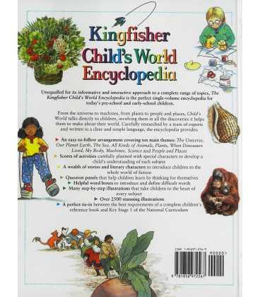 Child's World Encyclopedia Back Cover