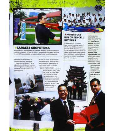 Guinness World Records 2009  Inside Page 1