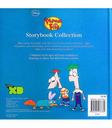 Phineas and Ferb Storybook Collection (Disney) Back Cover
