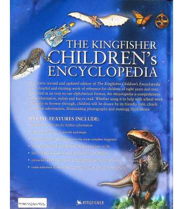 The Kingfisher Children's Encyclopedia Back Cover