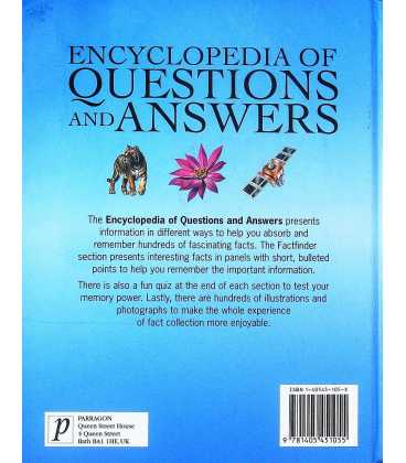 Encyclopedia of Questions and Answers Back Cover