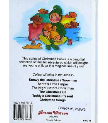 The Christmas Elf (Christmas Books) Back Cover