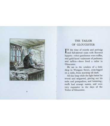 The Tailor of Gloucester  Inside Page 1