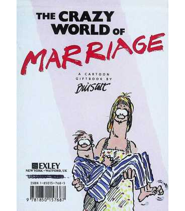 The Crazy World of Marriage Back Cover