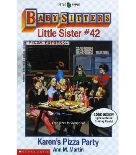 Karen's Pizza Party (Baby-Sitters Little Sister, No. 42)