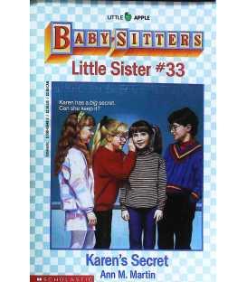 Karen's Secret (Baby-Sitters Little Sister, No. 33)