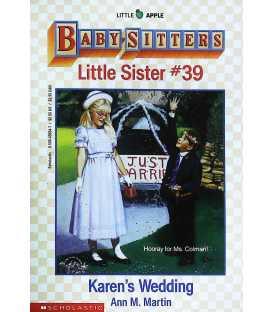Karen's Wedding (Baby-Sitters Little Sister, No. 39)