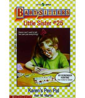 Karen's Pen Pal (Baby-Sitters Little Sister, No.25)