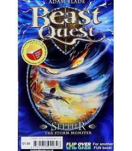 Mr Gum In The Hound Of Lamonic Bibber / Sephir The Storm Monster (Beast Quest)