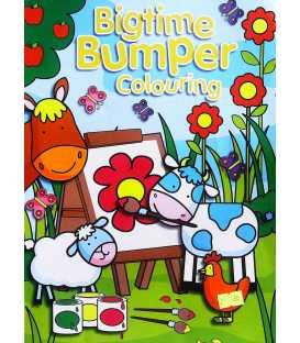 Bigtime Bumper Colouring Book