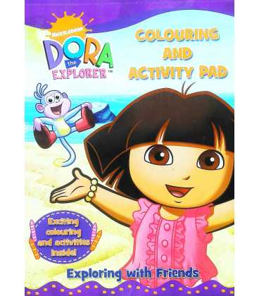 Dora The Explorer: Colouring and Activity Pad