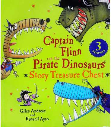 Captain Flinn and the Pirate Dinosaurs Story Treasure Chest