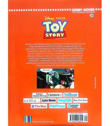 Toy Story Back Cover