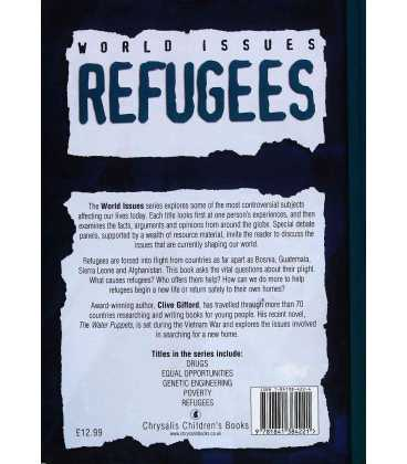 Refugees (World Issues) Back Cover