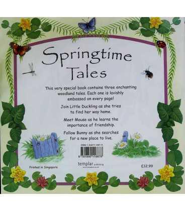 Springtime Tales Back Cover