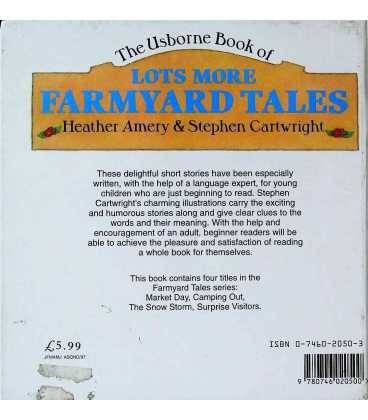Lots More Farmyard Tales Back Cover
