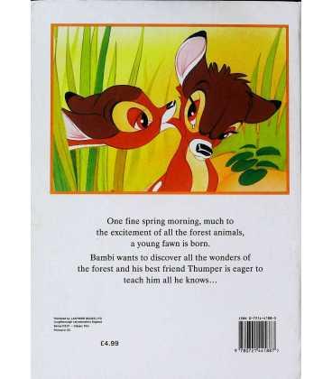 Bambi (Disney) Back Cover