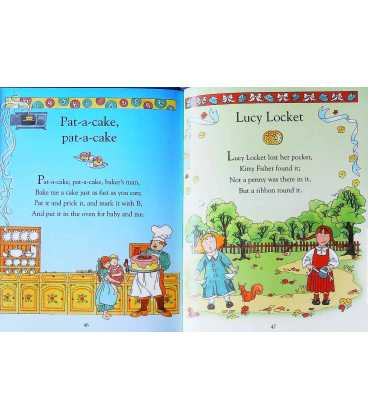 The  Usborne Little Book of Nursery Rhymes Inside Page 2