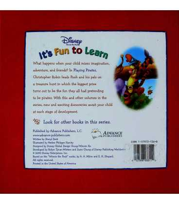 It's Fun to Learn (Winnie-the-Pooh) Back Cover