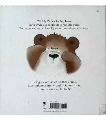 Wibbly Pig's Silly Big Bear Back Cover