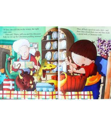 Harry and the Dinosaurs and the Christmas Wish Inside Page 1
