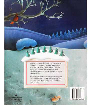 The Little Crooked Christmas Tree Back Cover
