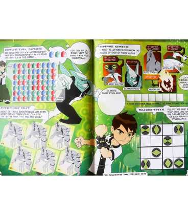 Ben 10 Annual Inside Page 1