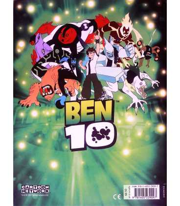 Ben 10 Annual Back Cover