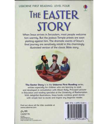 The Easter Story Back Cover