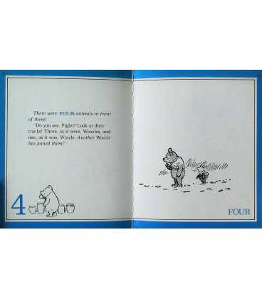 Pooh's Counting Book Inside Page 1