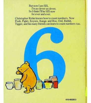 Pooh's Counting Book Back Cover