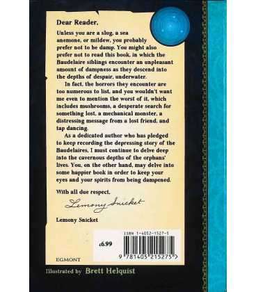 The Grim Grotto (Series of Unfortunate Events) Back Cover